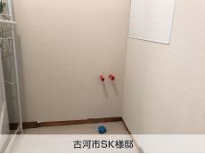 壁給水・床排水