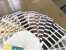 シーリング材のカラーサンプル