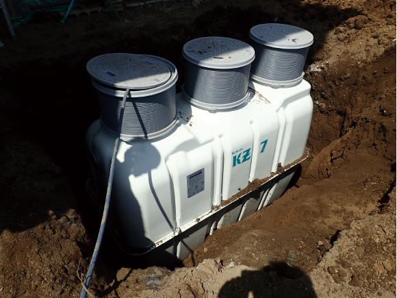 屋外雑排水工事