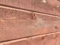 レッドシダーの外壁の施工例