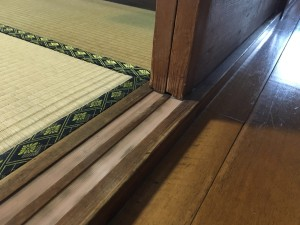 木製建具修理工事