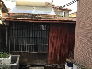 栃木県小山市解体工事前