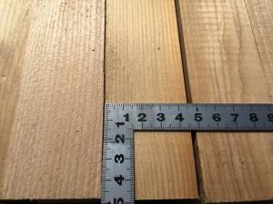 根太ベイツガ(米栂)の乾燥材
