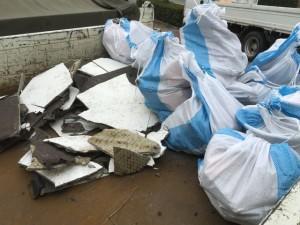 モルタル・タイル等は産業廃棄物として処分
