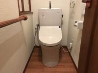 TOTOリモデル便器リフォームとトイレの内装リフォーム