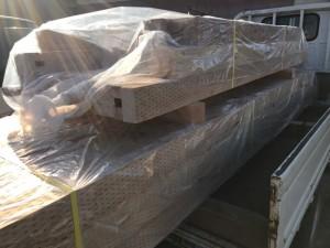 土台などの構造材はプレカット工場で加工