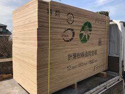針葉樹構造用合板(ラーチ合板)