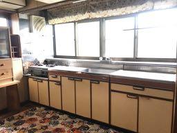 既存のキッチンの写真