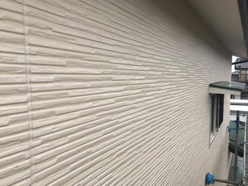外壁工事完了写真