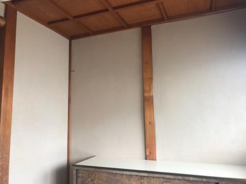 京壁塗替リフォームの完了です!