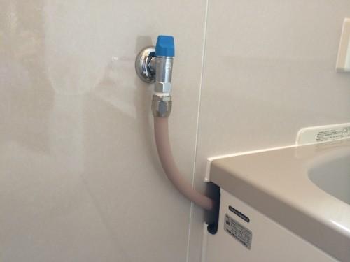 ガスの元栓の部分の写真です。