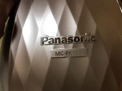パナソニック掃除機MC-PK18G-N