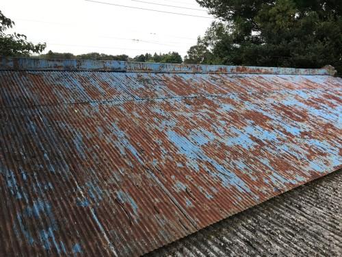 屋根リフォーム前の写真