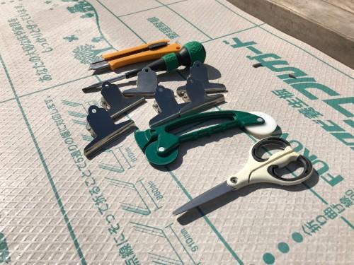 網戸張り替えに必要な道具