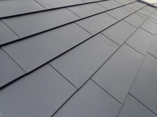 屋根カバー工法リフォームの完成